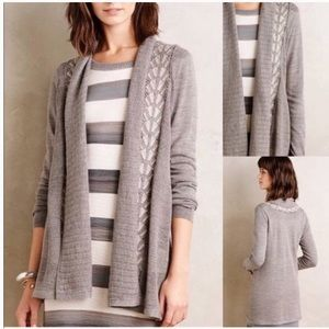🍁 Anthropologie Knitted & Knotted Cardigan
